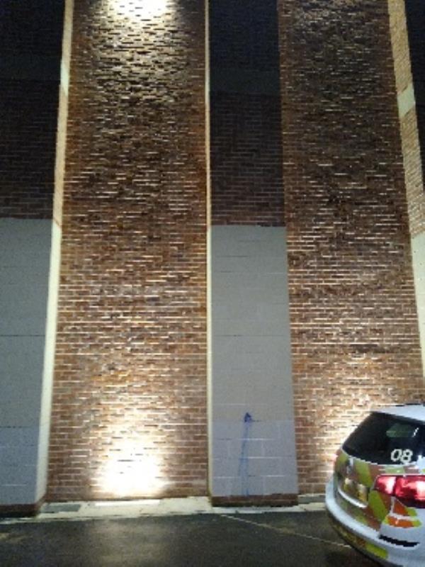 graffiti/paint damage  image 1-Site Of, 15 Horsefair Street, Leicester, LE1 5BP