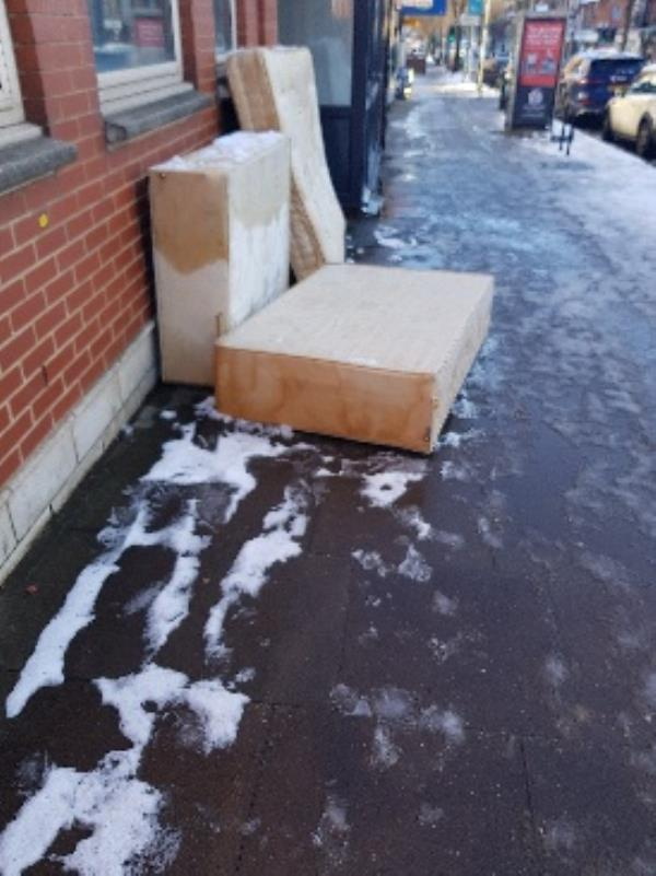 old police station. hinckley rd. illegal flytipping-64-66 Hinckley Road, Leicester, LE3 0RD