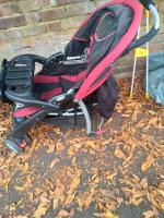 Flytipped pushchair with broken wheel no evidence taken away  image 1-43 Upper Redlands Road, Reading, RG1 5JE
