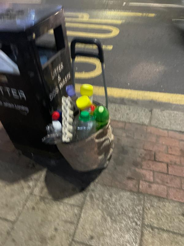 Rubbish  image 1-143 Green Street, Green Street East, E7 8JE