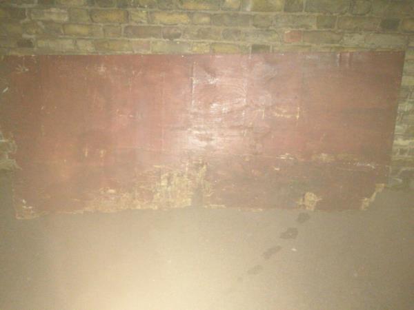 timber sheet on.pavement-16 Rosebery Avenue, London, E12 6PZ