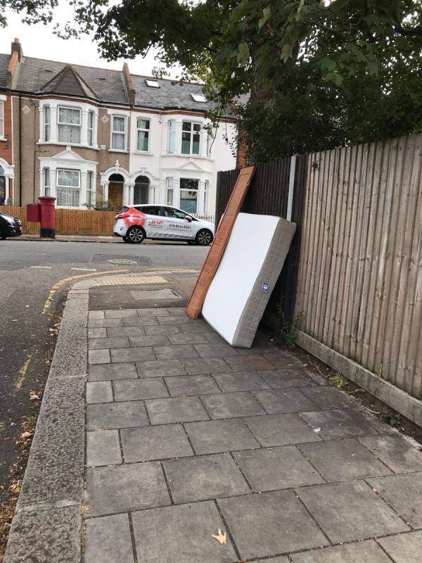Mattress and doors near 63a rosenthal Rd. -128 Laleham Road, London, SE6 2AD