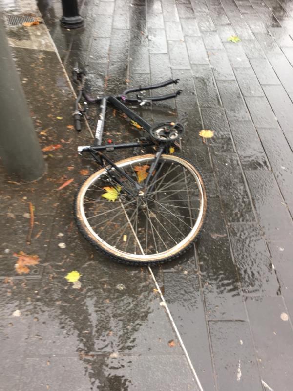 Cycle needs removing -31 Broadway, London, E15 4BQ