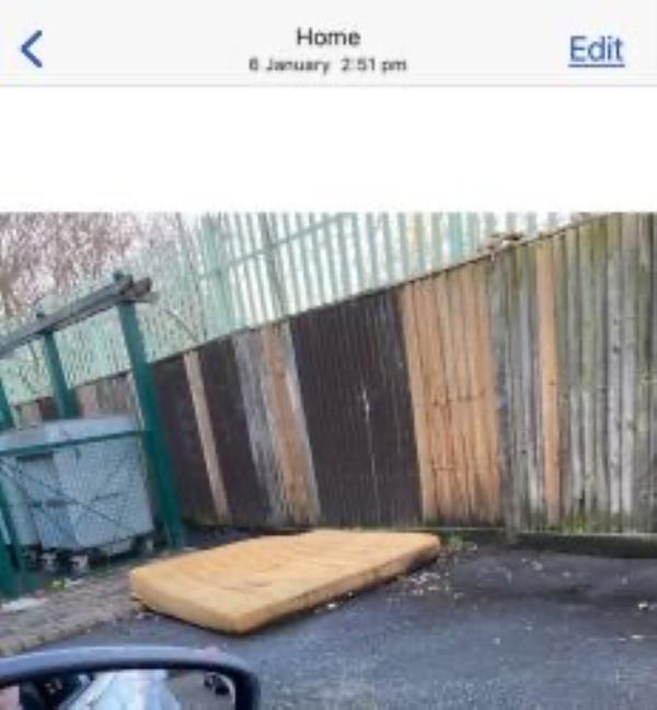 31/41 Battersby Road. Please clear a mattress-29 Battersby Road, London, SE6 1SA