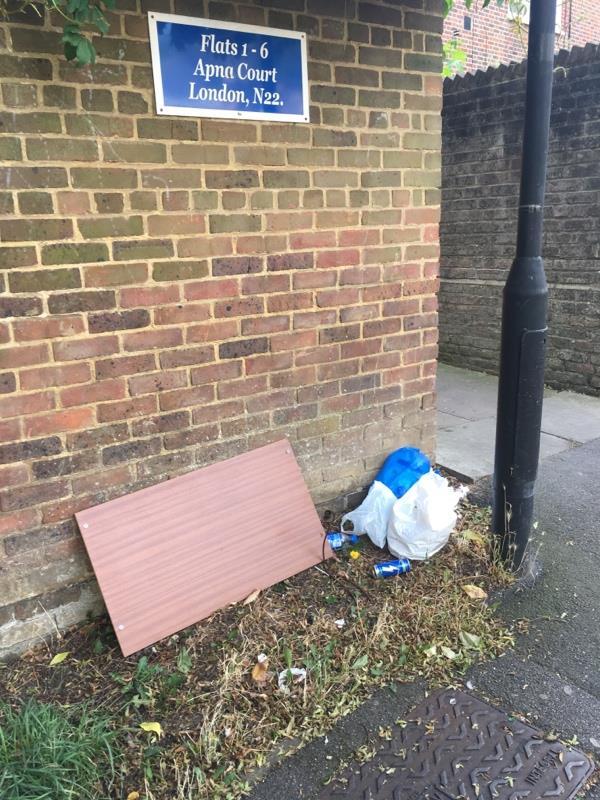 Entrance to Apna Court off Winkfield Road N22-Apna Court Bracknell Close, London, N22 5RZ