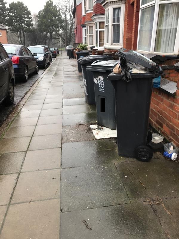 Bins-3 Bramley Road, Leicester, LE3 9DA