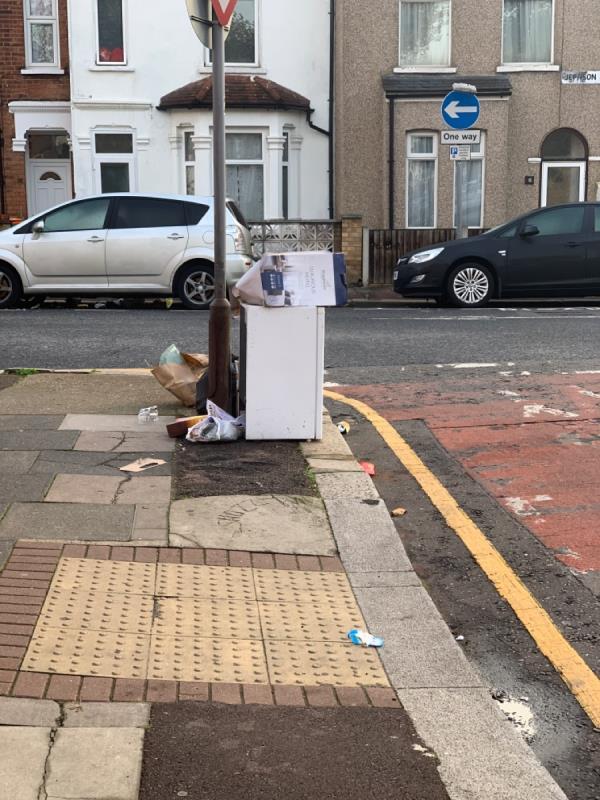 Corner of cromwell road -11 Jephson Road, London, E7 8NA