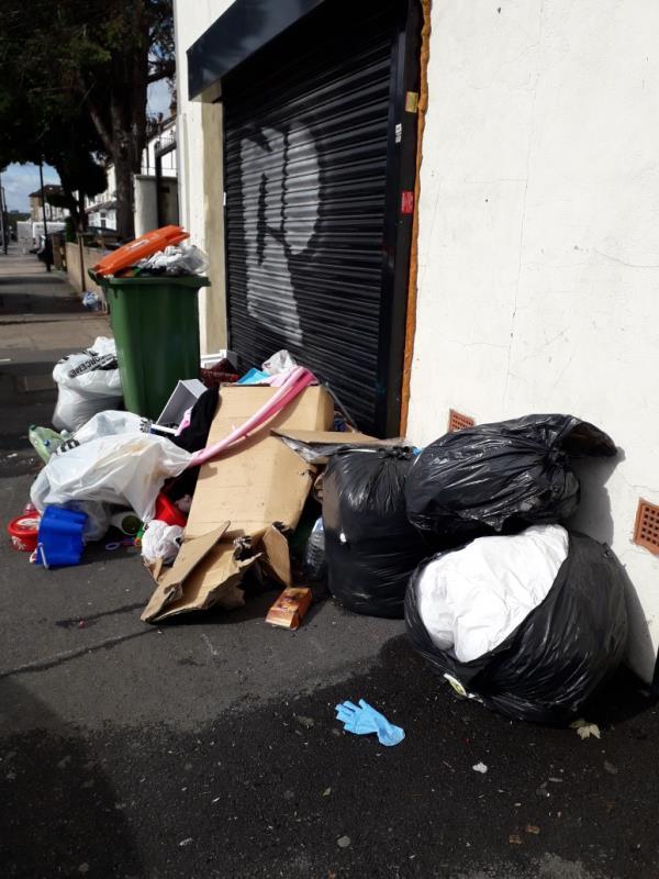 household waste -248 Green Street, Upton Park, E7 8LF