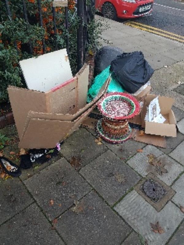 same spot as usual, general waste-88 Adley Street, London, E5 0DZ
