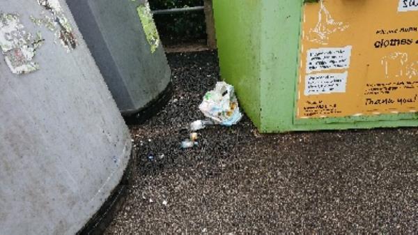 Removed excess bottles. builders bags of rubble  image 2-104 Wokingham Road, Reading, RG6 1JL
