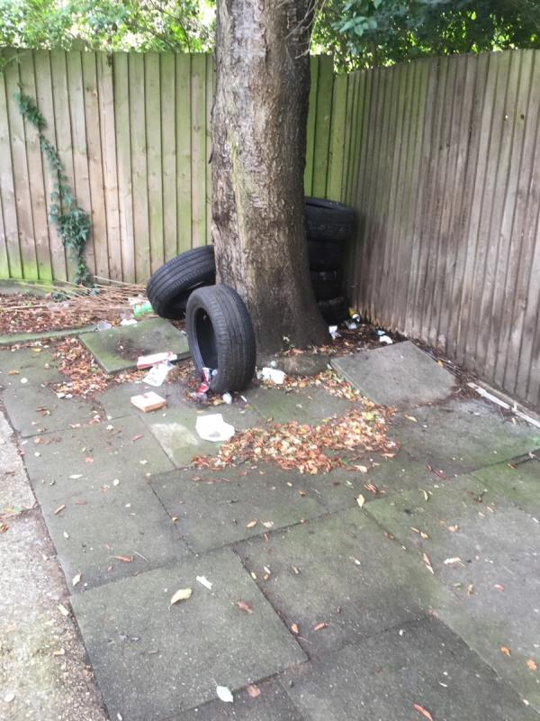 Car tyres and other -37 Gentry Gardens, Plaistow, E13 8BW