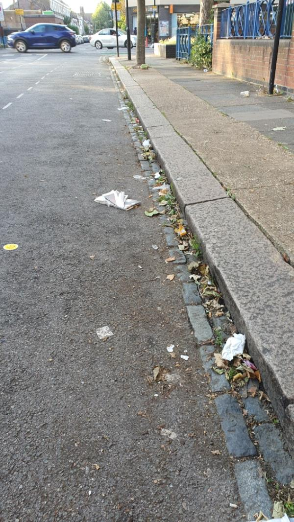 Litter -13 Faraday Road, London, E15 4JT
