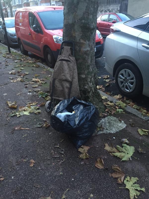 Rubbish dump at 130 Shelley Avenue E126rf -1 Essex Road, London, E12 6RF