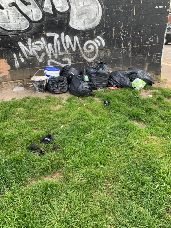 General waste dumped-63 New City Road, Plaistow, E13 9LN