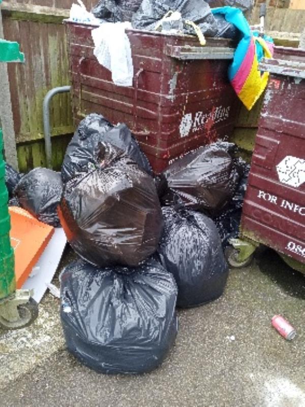 excess waste bin store 32-42 Severn way-38 Severn Way, Reading, RG30 4HH