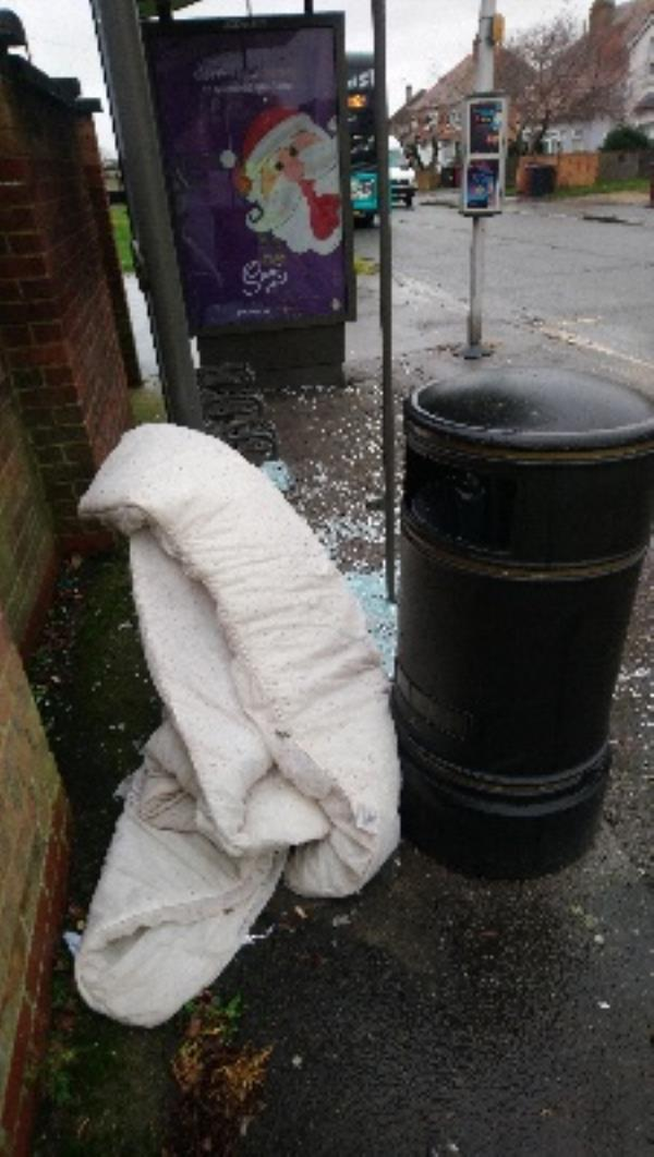 Fly tipping cleared -242 Whitley Wood Road, Reading, RG2 8TJ