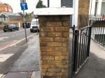 Pillar blast/paint 0.5m image 1-22 Mornington Rd, New Cross, London SE8 4BN, UK