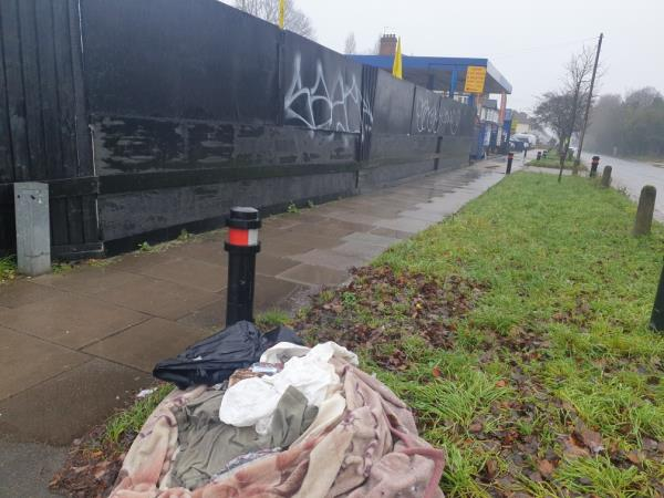 grafitti on large hoarding area by gurdwara-1 Milan Road, London, UB1 3AJ