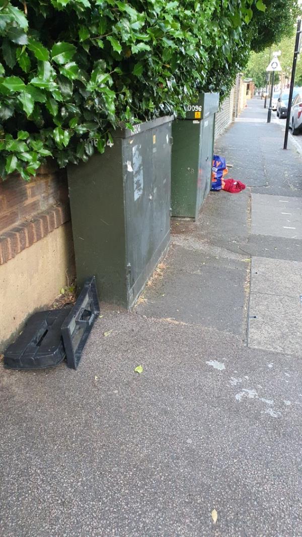 plastic box RICHMOND ROAD-52c Claremont Road, London, E7 0QB
