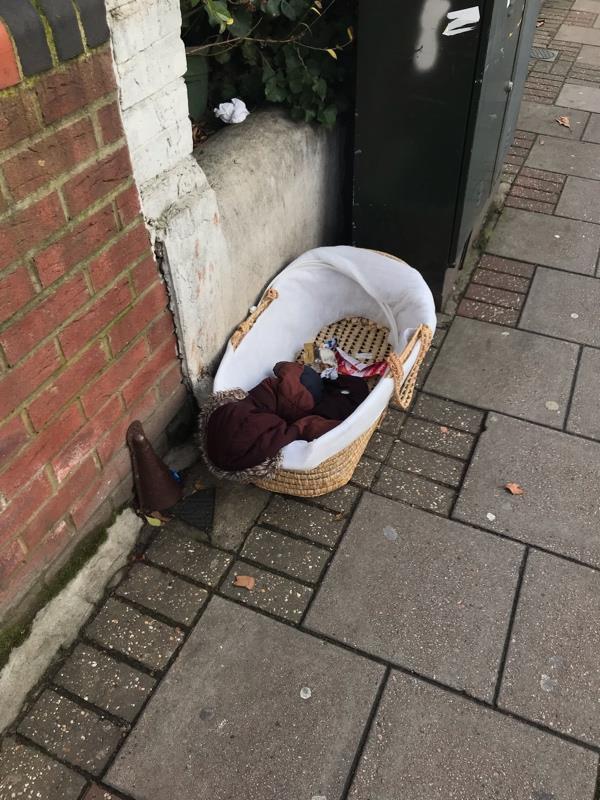 Outside No. 70 Harold Rd-62a Harold Road, London, E13 0