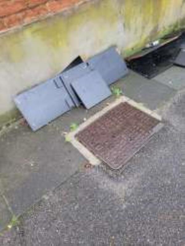 Please clear flytip. Reported via Fux My Street-194 Ardgowan Road, London, SE6 1XA