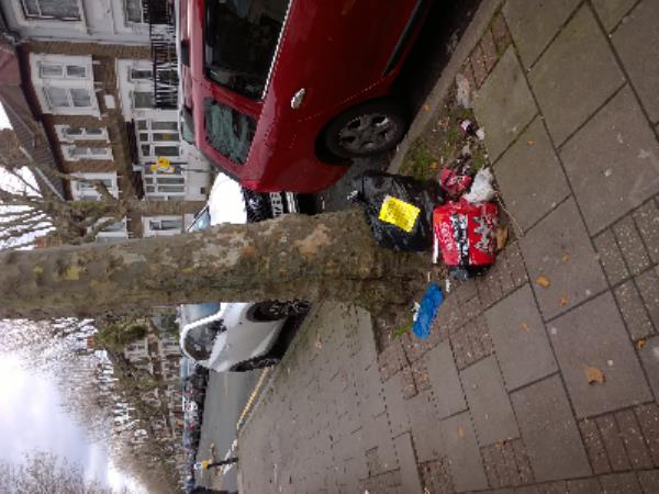 domestic waste, beer bottles-119 Harold Road, London, E13 0SF