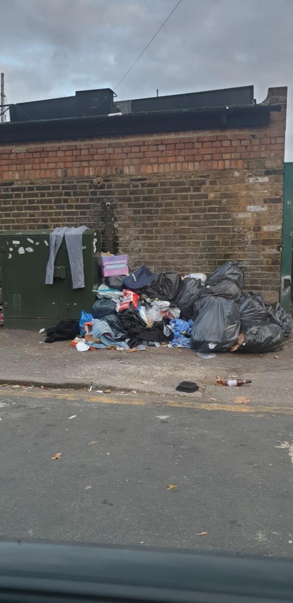 Rubbish dumped-2A Heigham Rd, London E6 2JG, UK