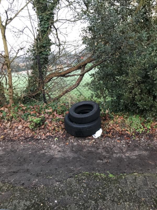 2 tyres -21 Sydenham Rise, London, SE23 3XL