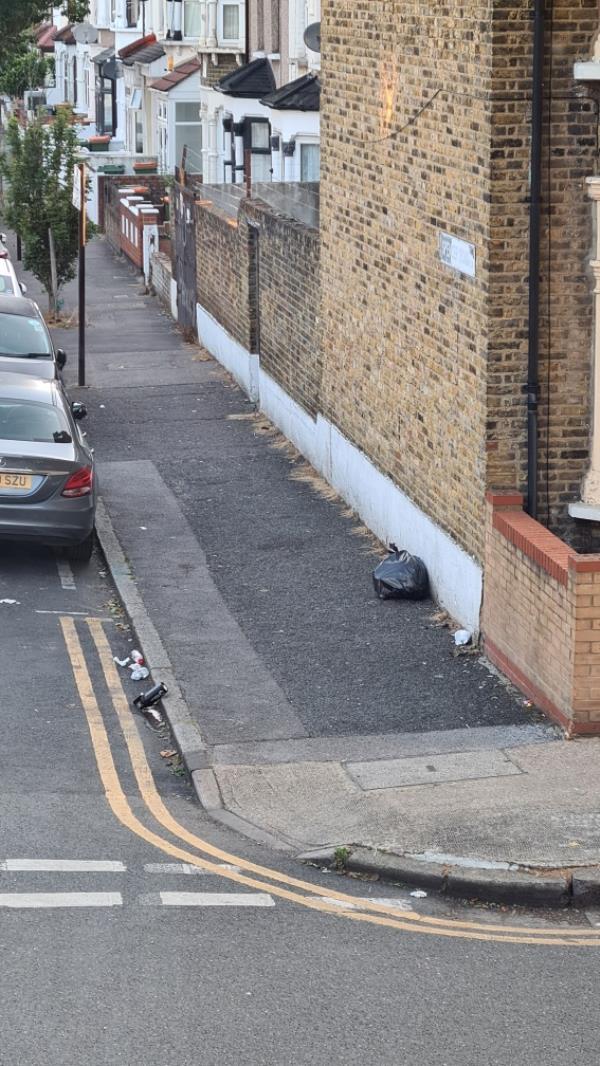 Black bag-101a Grangewood Street, East Ham, E6 1HB