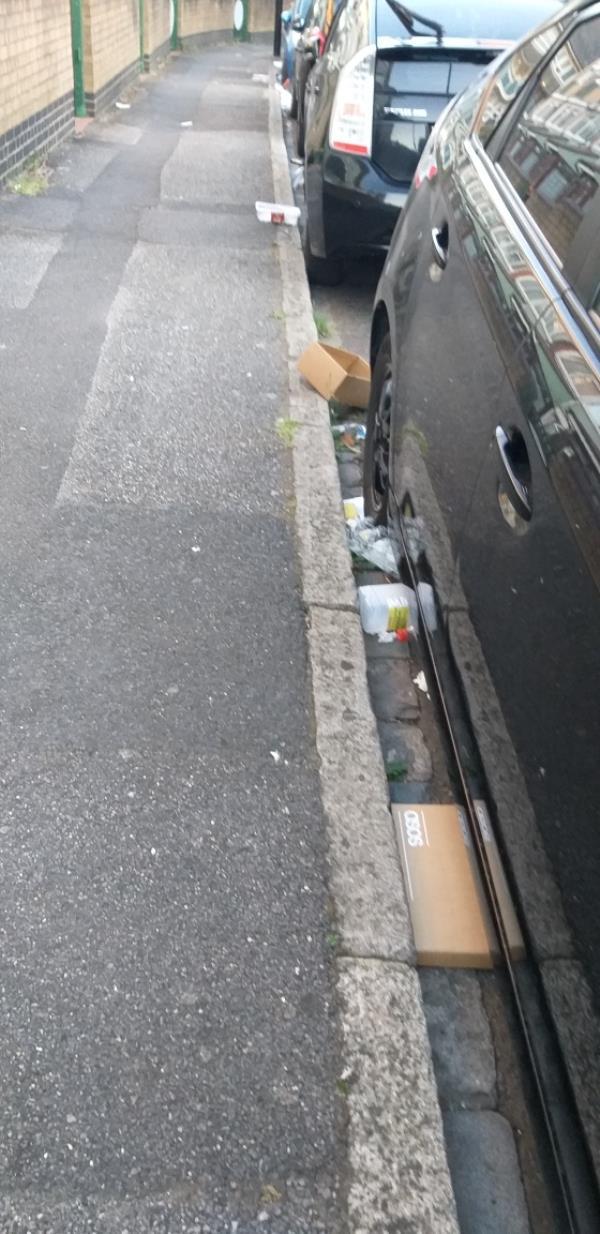 need clean all road..-19 Dirleton Rd, London E15 3QQ, UK