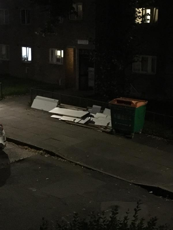 Rubbish -2 Clifford Road, London, E16 4JW