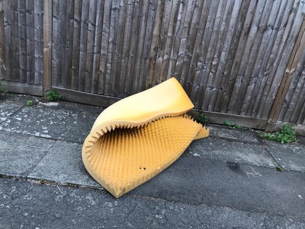 Foam mattress ( for East Mobile ) - 1 Sportsbank Steet -6 Sportsbank Street, London, SE6 2EX