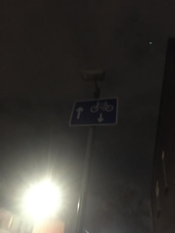 Light still out -75 Wellington Road, London, E7 9BL
