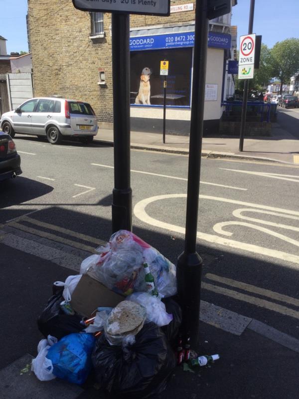 Junction of inniskilling Road  image 1-744a Barking Road, London, E13 9PJ