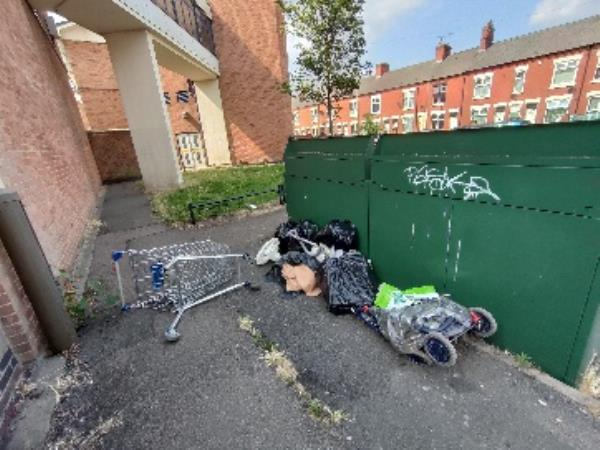 Flytipping -193 Brandon Street, Leicester, LE4 6DS