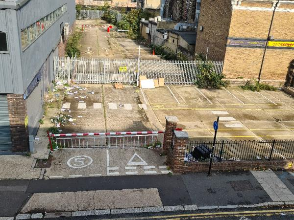 Ever since the offices across the street were closed, garbage has been constantly dumped in that space. We still live a nightmare every night on this street, due to drunk people urinating on the block, where they grab, scream, and  parked cars coming to the pub now have to endure the garbage as well.-1 Grove Cres Rd, London E15 1BJ, UK