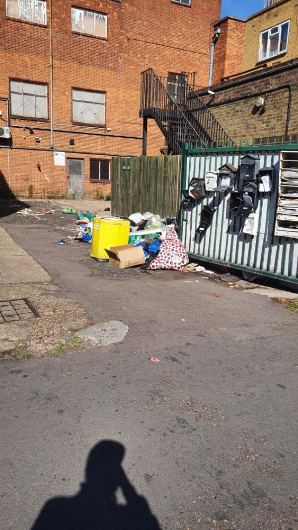 picture speaks for itself. seems like nothing is being done.-3 Heigham Road, East Ham, E6 1JB