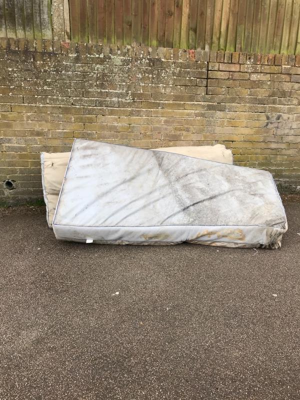 Mattresses opposite no.54 Longton Grove -52 Longton Grove, London, SE26 6PP