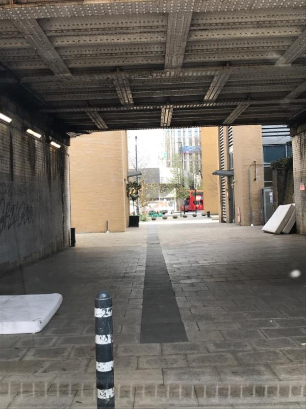 3 double mattresses -14 Branscombe Street, Lewisham, SE13 7BS