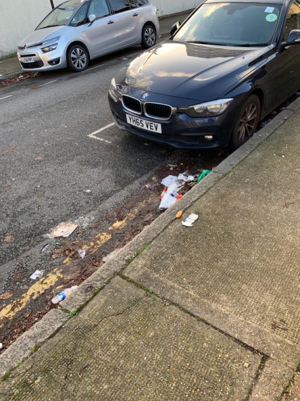 Benson Ave needs sweeping ASAP -1 Benson Avenue, London, E6 3EE