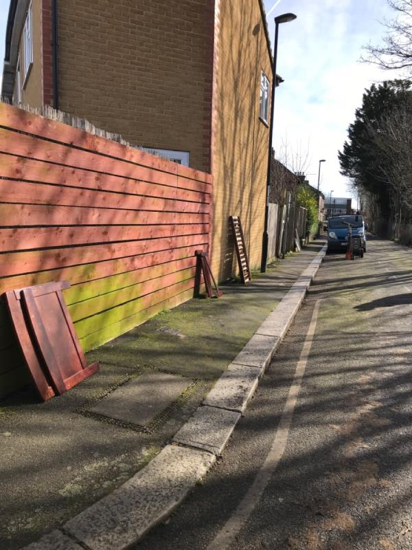 Broken furniture -4 Holly Hedge Terrace, London, SE13 5HQ