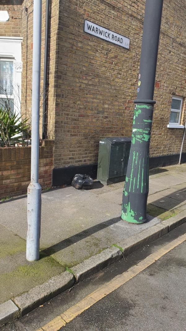 Bin bag-2 Reginald Road, London, E7 9HS