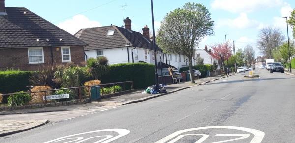 black bags -54 Noel Road, London, W3 0JU