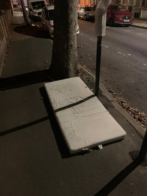 A mattress (why) -18 Sixth Ave, London E12 5PP, UK