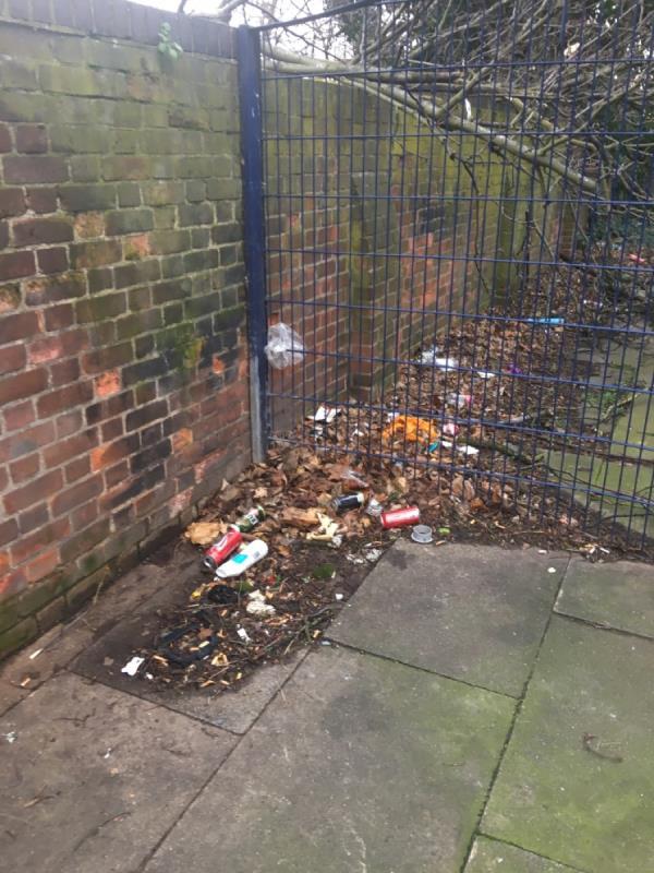 Been here all week same beer cans n leafs-115 Earlham Grove, London, E7 9AP