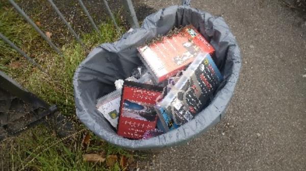 Flytipped videos no evidence taken -45b Whitley Wood Lane, Reading, RG2 8PN