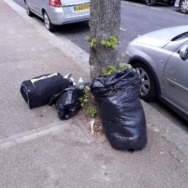 3 bags of waste-243 Monega Road, London, E12 6TU