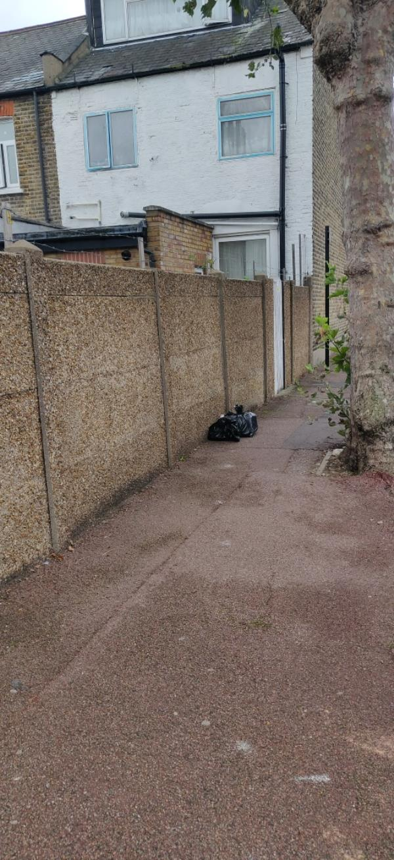 bin bags-53 Springfield Road, East Ham, E6 2AH