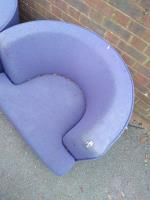 Sofa chairs left out for someone to take? Or flytipped sofa. Have taken as blocking pathway a trip hazard.  image 2-87 Stanhope Road, Reading, RG2 7HW