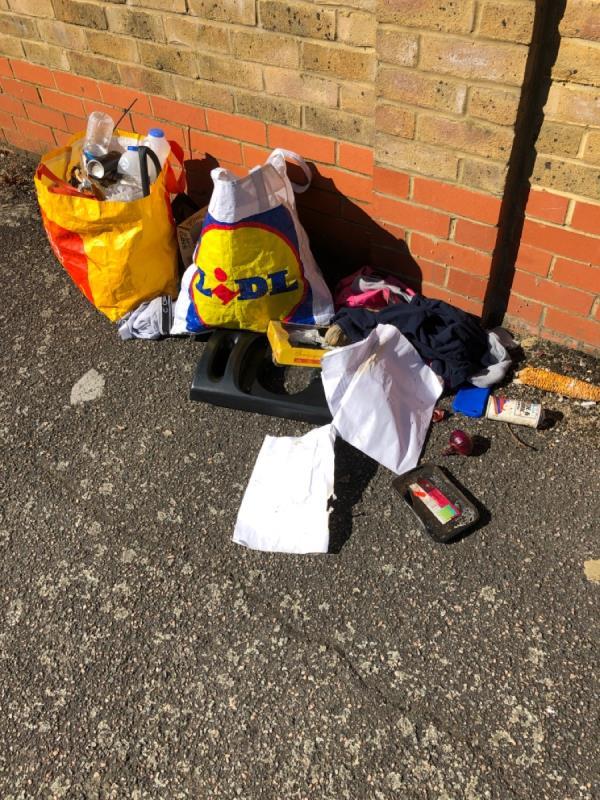 Rubbish-26 Salisbury Road, London, E7 9JX